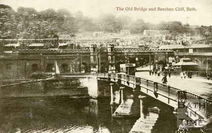 Old Bridge, Bath, c.1920s