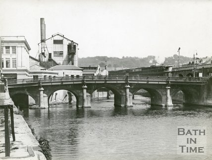Old Bridge, Bath, c.1960
