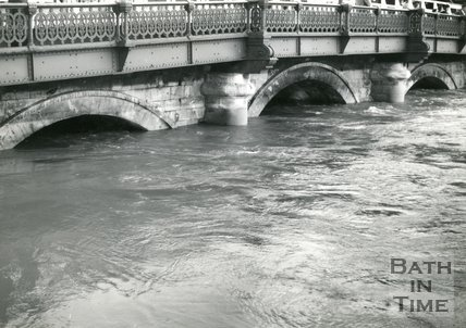 Old Bridge, Bath, 20 November 1963