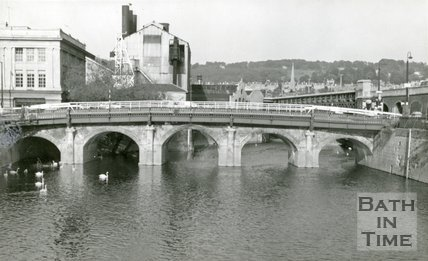 The Old Bridge, Bath, c.1950s