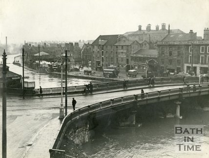 Old Bridge, Bath, c.1930