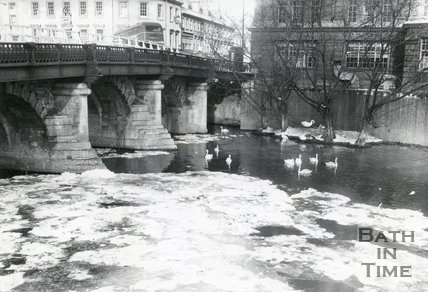 Old Bridge, Bath, 1963