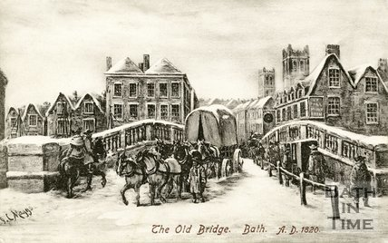 Old Bridge, Bath, c.1820