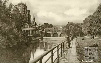 Pulteney Bridge, Bath, c.1930s?
