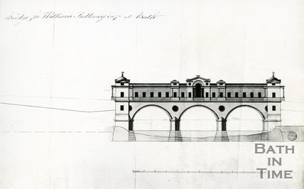 Pulteney Bridge, Bath, c.1768