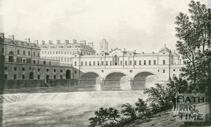 Pulteney Bridge, Bath, 1777
