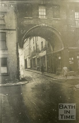 Trim Bridge, Bath, 1945