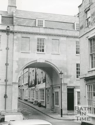 Trim Bridge, Bath, Restored, 1976