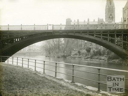 North Parade Bridge, Bath, c.1920s