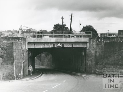 Westmoreland Road Bridge, South Side, Bath, 1985