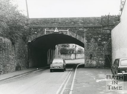 Westmoreland Road Bridge, North Side, Bath, 1985