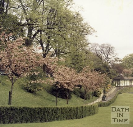 Floral display at Royal Victoria Park, Bath, c.1990s?