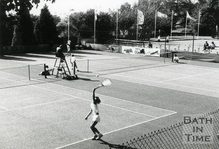 Goofy Tennis Tournament, Royal Victoria Park, Bath, c.1990s?