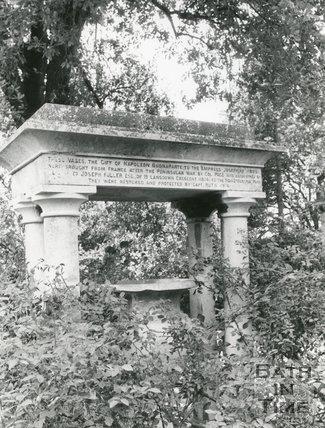 Royal Victoria Park, Bath, Empress Josephine's Vases, c.1970s