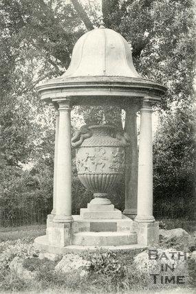 A replica of The Miller Vase, Royal Victoria Park, Bath, c.1903