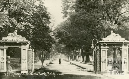 The Avenue, Royal Victoria Park, Bath, c.1916
