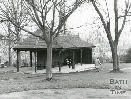 New Shelter at Royal Victoria Park, Bath, 1982