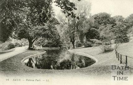 Royal Victoria Park, Bath, 1917