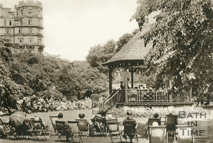 The Parade Gardens, Bath, c.1930s
