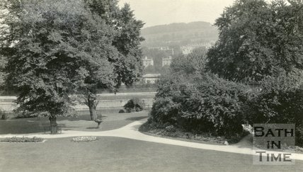 Parade Gardens, Bath, General View, c.1935