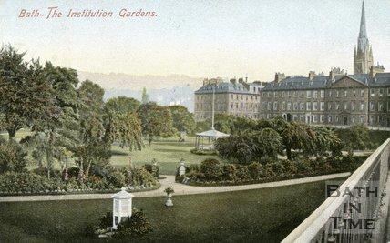 Parade Gardens, Bath, c.1905