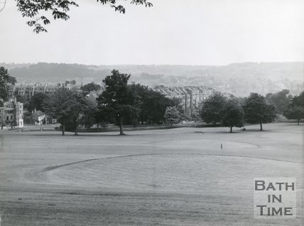 Approach Golf Course, adjoining Royal Victoria Park, Bath, c.1960s