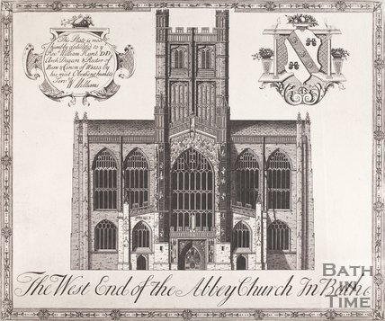 The West End of the Abbey Church in Bath, c.1730?