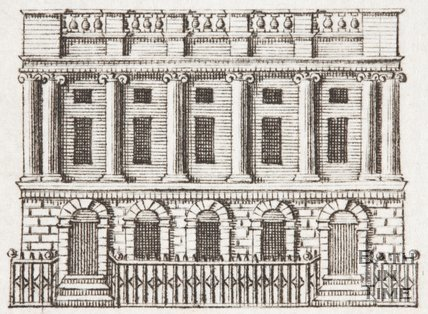 East India House, London, c.1772.