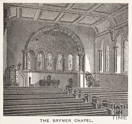 The Brymer Chapel, Bath, 1864