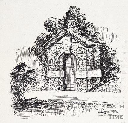 A Notable Summer House. Bath. 1880?