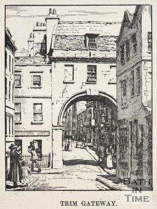 Trim Gateway, c.1890? Bath.