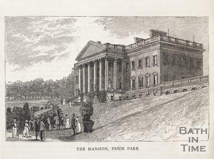 The Mansion, Prior Park, Bath, c. 1880?