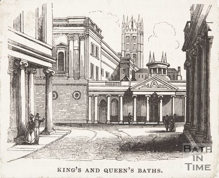 King's and Queen's Baths, c.1850?