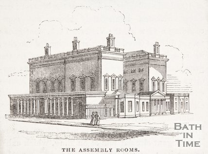 The Assembly Rooms, Bath, 1843