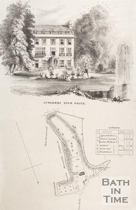 Lyncombe Spaw House, bath, c.1845?