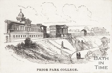 Prior Park College, Bath, 1843