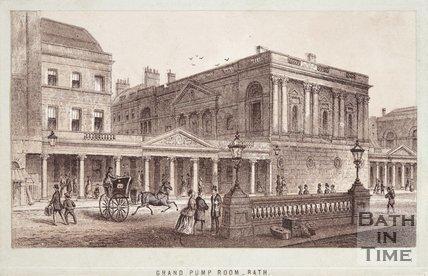 Grand Pump Room Bath, c.1870?