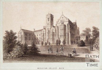 Wesleyan College, Bath, c.1870?