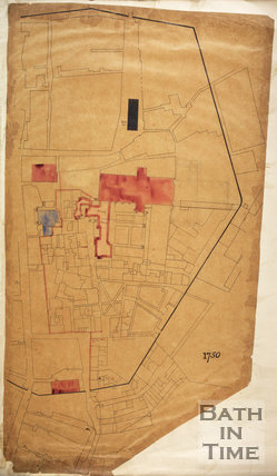 1750 Plan of the City of Bath