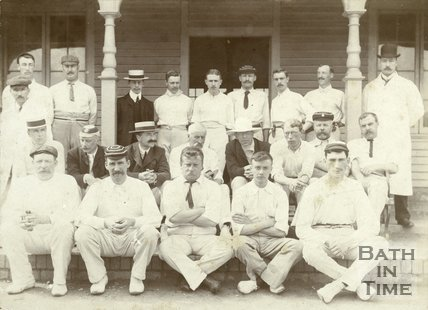 Bath Corporation Officials and Bath Police Force Cricket Match, 1905
