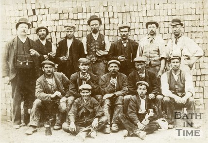 Workers of the Moorland Brick and Tile Works, Bath c.1900