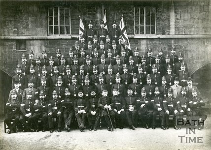 Bath City Police, Group Portrait, 1897
