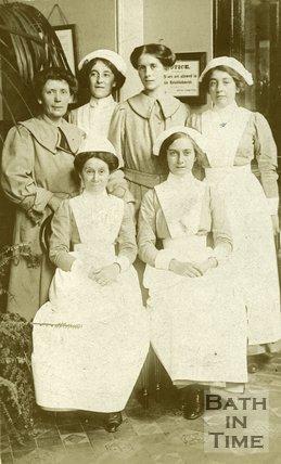 Royal Baths Staff, 1917