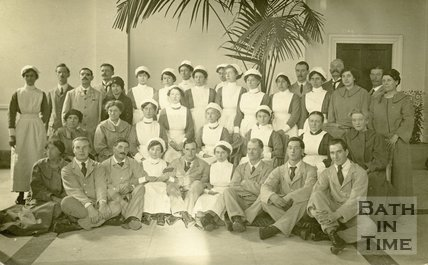 Royal Baths Staff, 1917