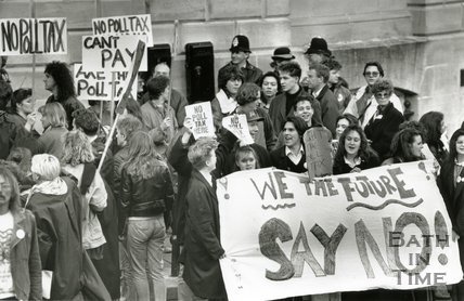Poll Tax Disturbances and demonstrations, 1990