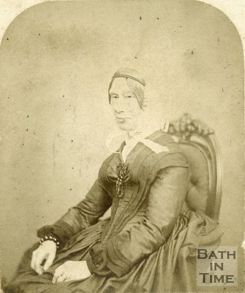 Unidentified Portrait Talbotype, Bath, c.1860