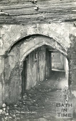 The East Gate, under the Empire Hotel, Bath