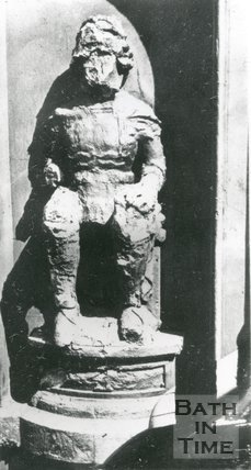 Effigy of King Edward III, once over the South Gate of the City Walls