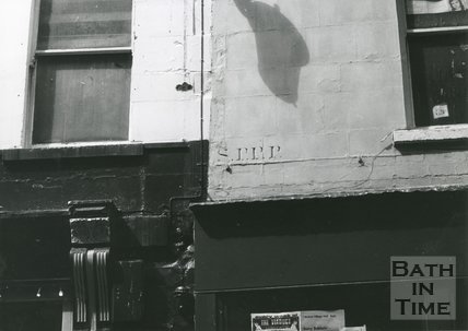 Parish Boundary marks, Upper Borough Walls Bath, 1978