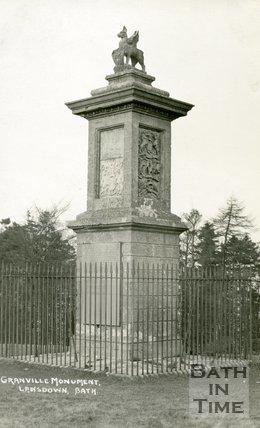 Grenville's Monument Lansdown Bath, c.1930